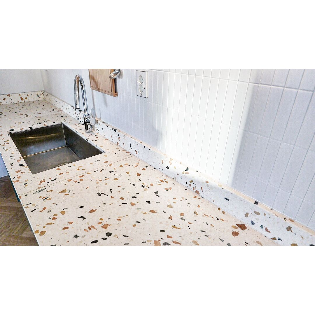 Terrazzo Kitchen Countertop Terrazzo Countertops In 2019