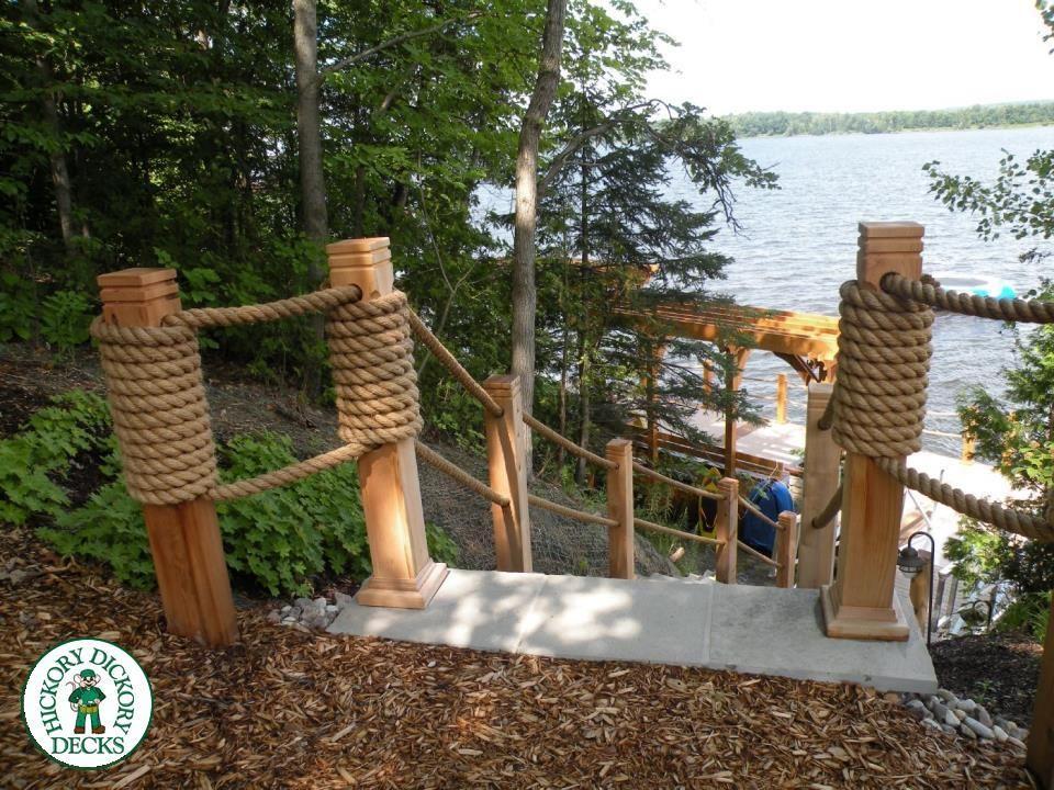 Best Rope Deck Railing Maintenance Decks » Other Low 400 x 300