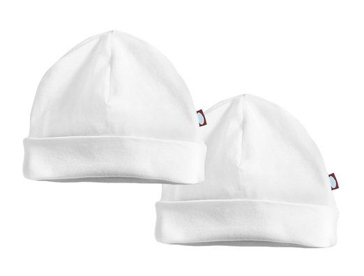 NIce Caps Baby Boy Reversible and Solid Cotton Twill Helmet Bonnet