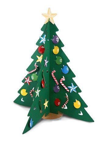 Una Buena Idea Arbol De Navidad De Carton Imaginacion Y Magia - Adornos-de-navidad-con-carton