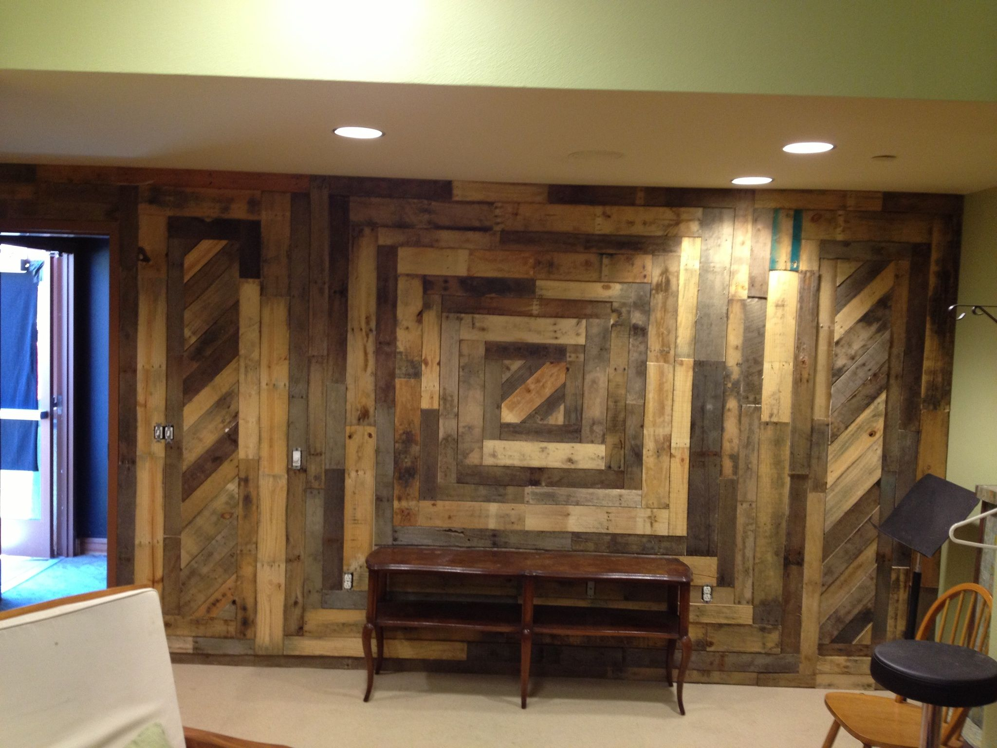 Loving This Wanting To Do This In A Bathroom Diy Pallet Wall