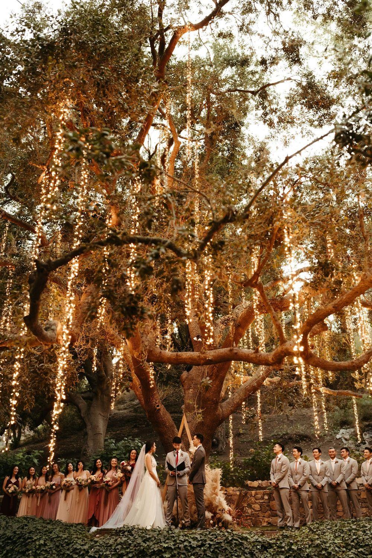 Whimsical Fairytale Wedding at Calamigos Ranch | L