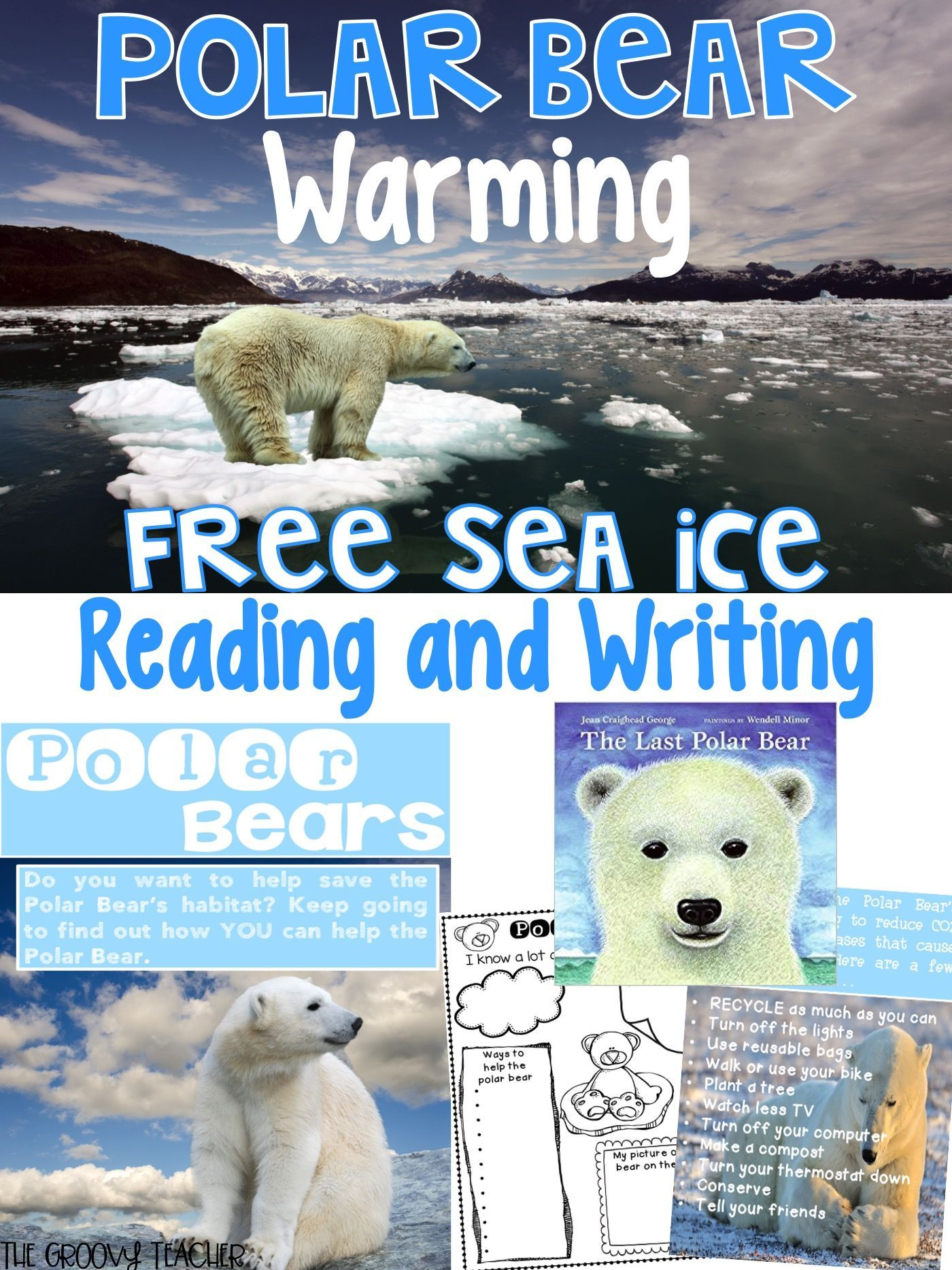 Free Reading And Writing Lesson On Polar Bears And