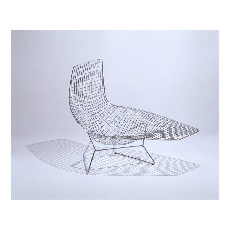 Bertoia Asymmetric Chaise Met Afbeeldingen