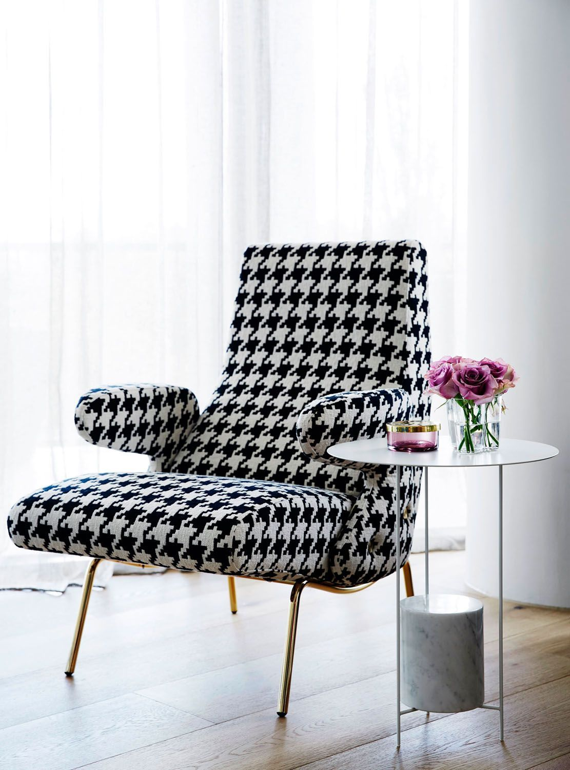 houndstooth chair - Google Search | Furniture design ...