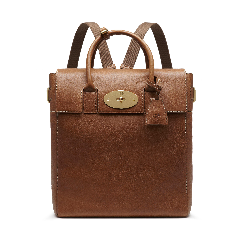 561717b5e2c Mulberry - Large Cara Delevingne Bag in Oak Natural Leather ...
