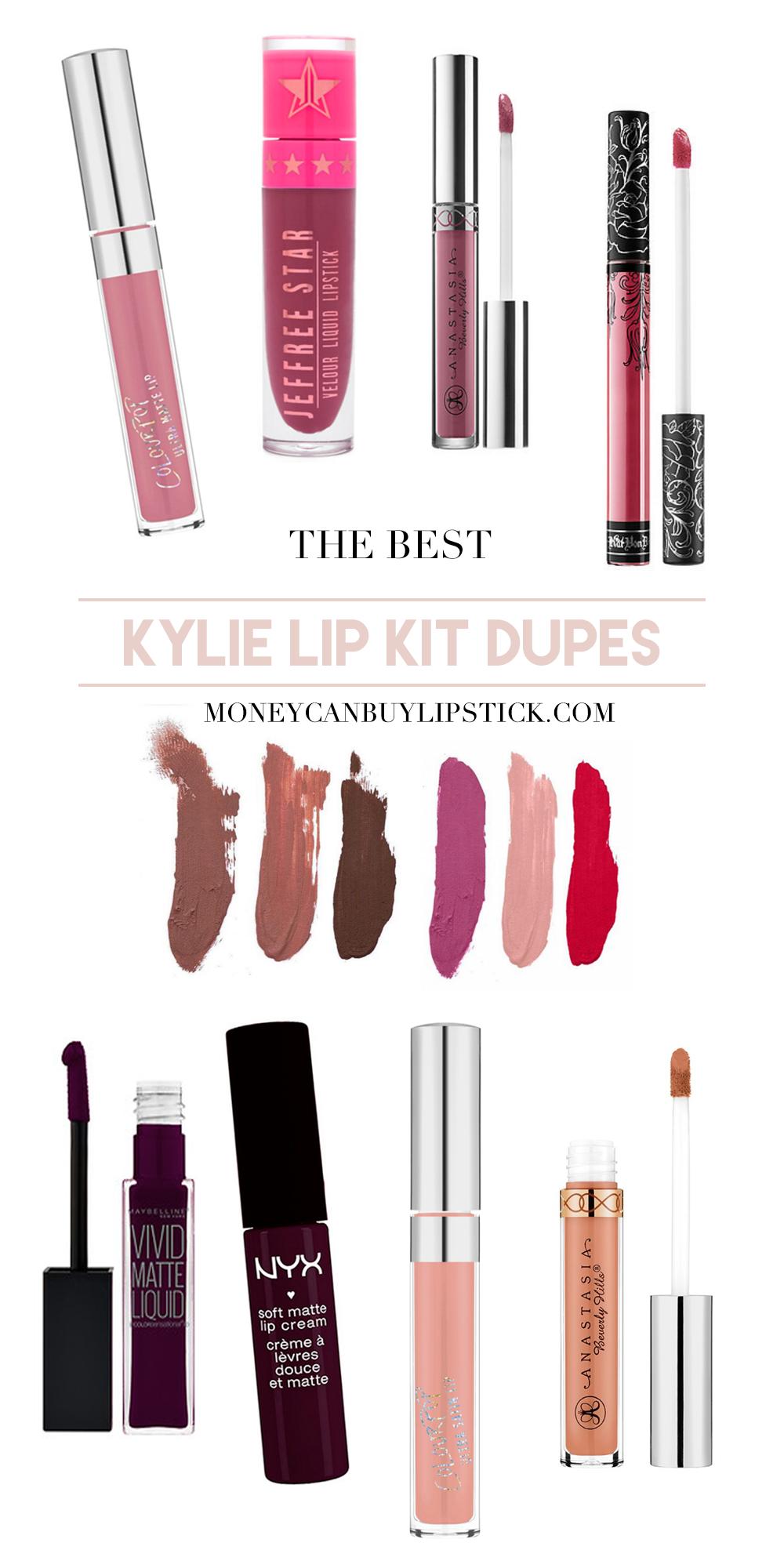 Kylie Cosmetics Lip Kit Dupes II
