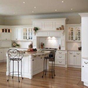 cocinas blancas buscar con google - Cocinas Clasicas Blancas