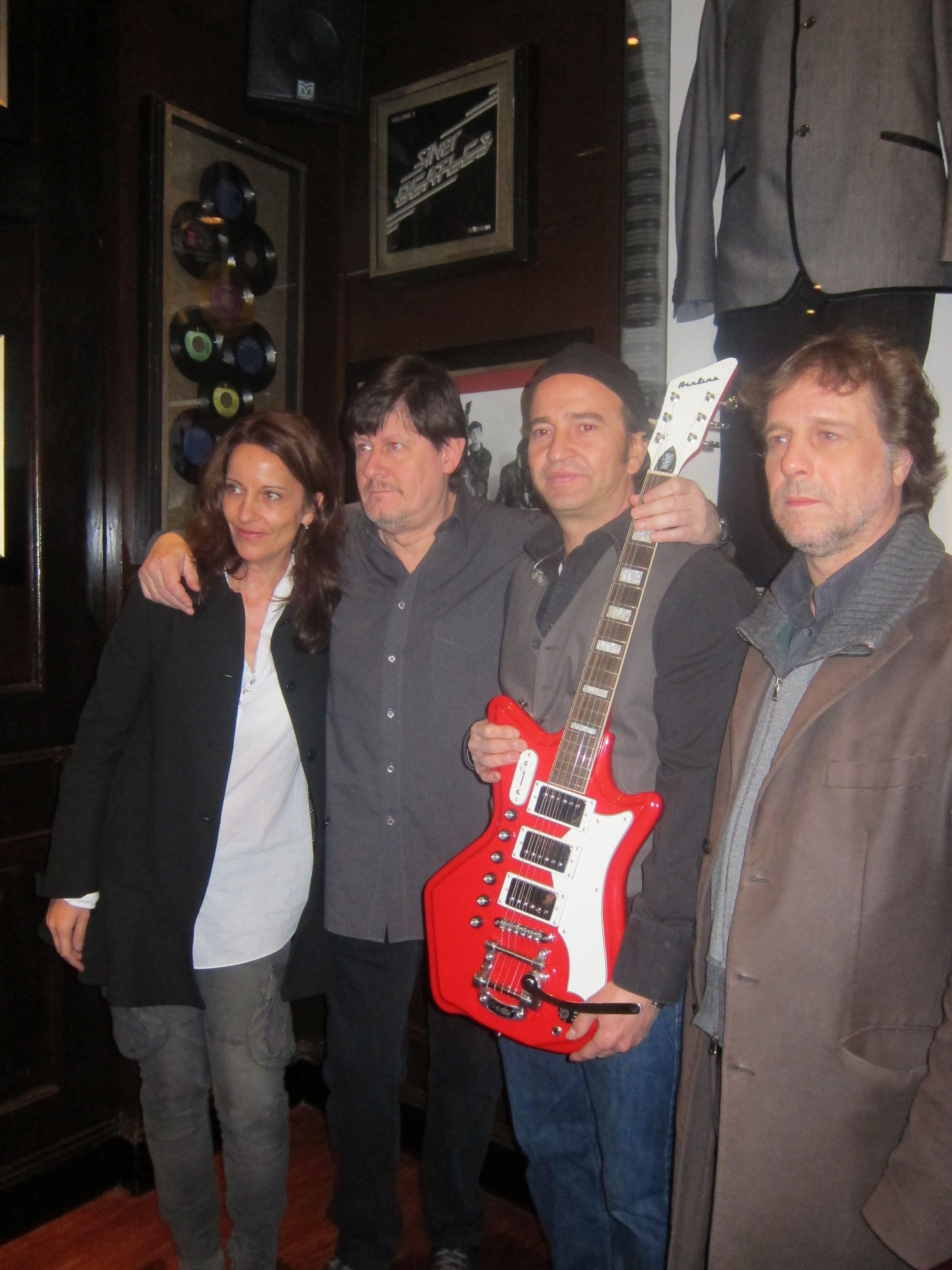 Los Secretos en Hard Rock Cafe Madrid