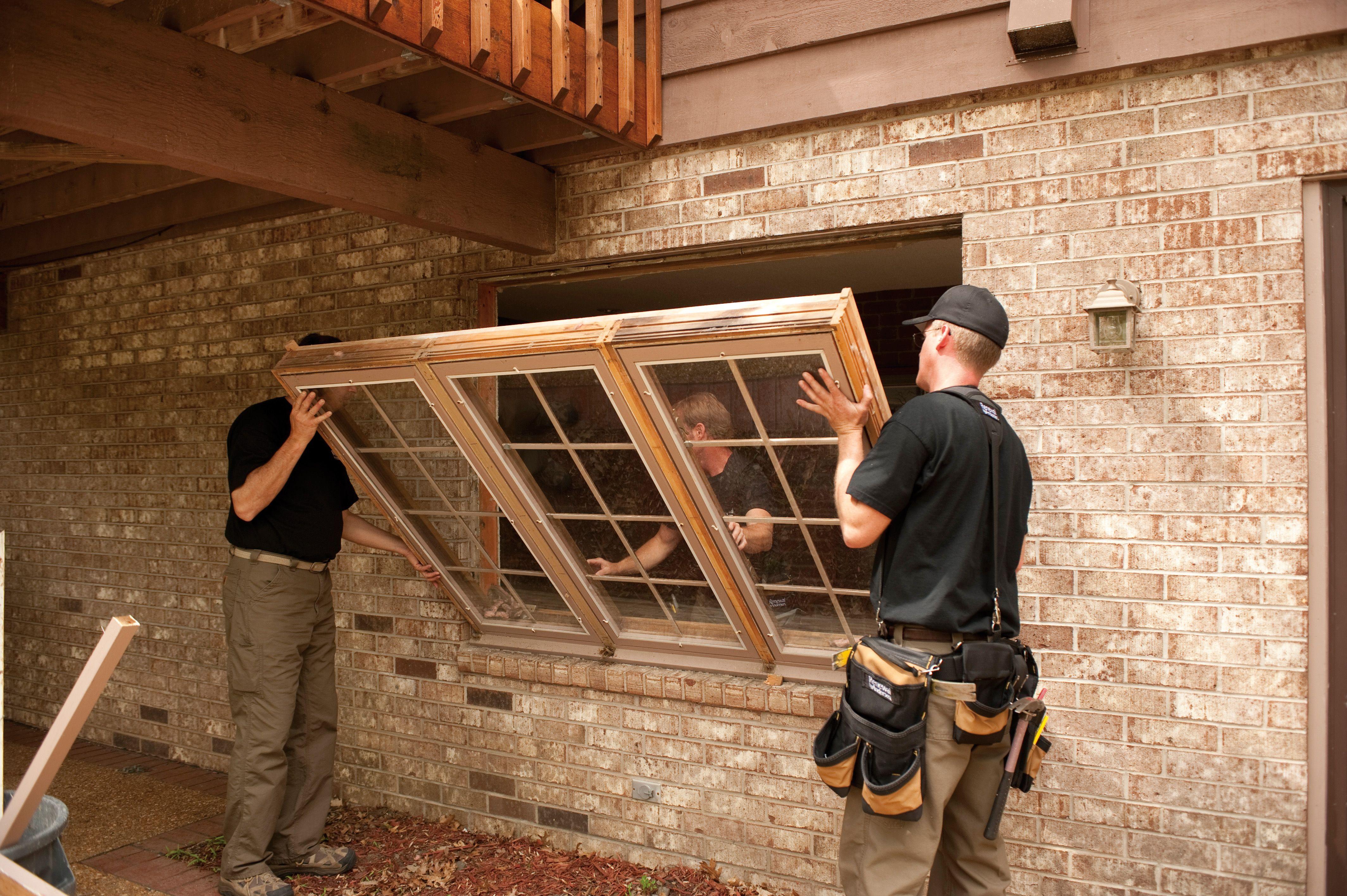 Installation Day Installation Casement Vinyl Replacement Windows
