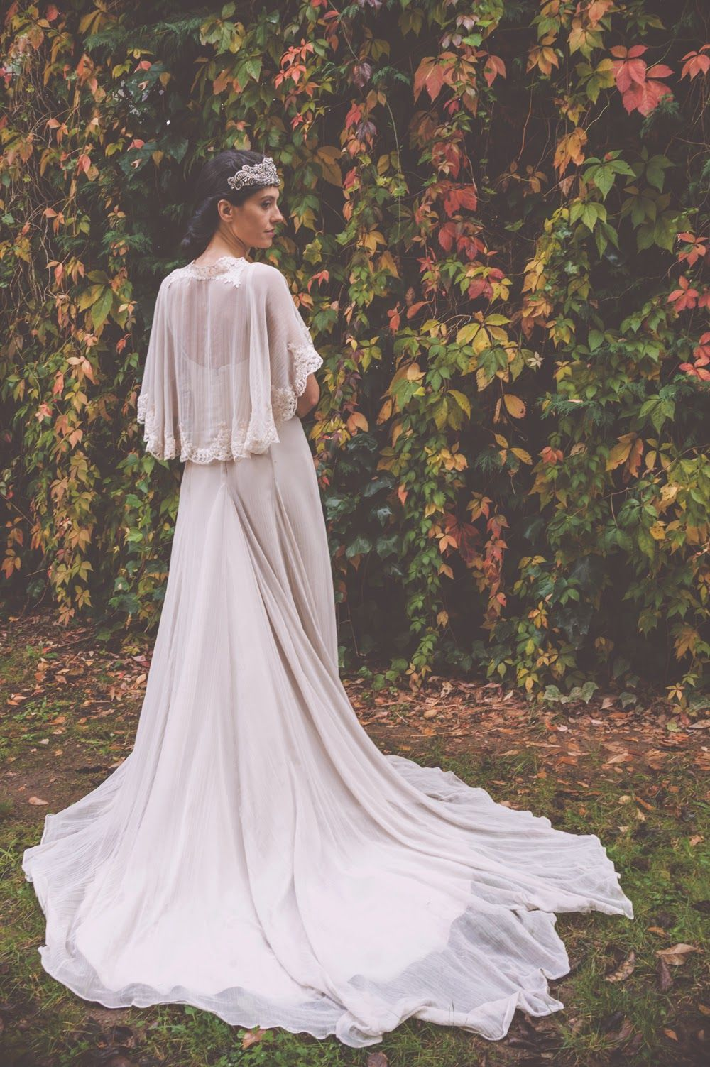 vestido de novia bouret | Vestido de boda bohemio, Vestidos