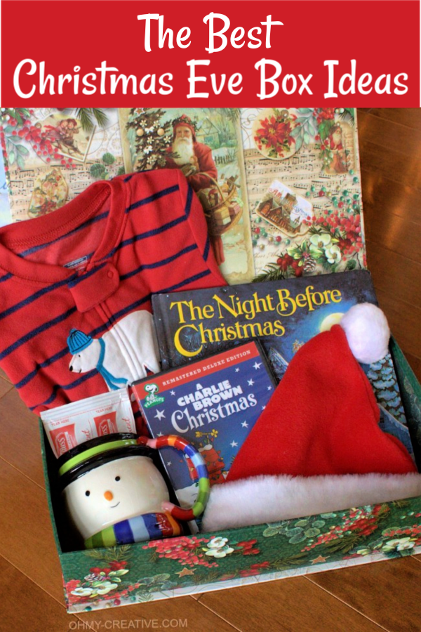 Gift Guide For The Night Before Christmas Box Christmas Eve Gift Christmas Eve Box Night Before Christmas Box