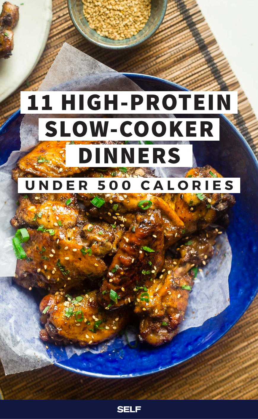 11 HighProtein SlowCooker Dinners Under 500 Calories