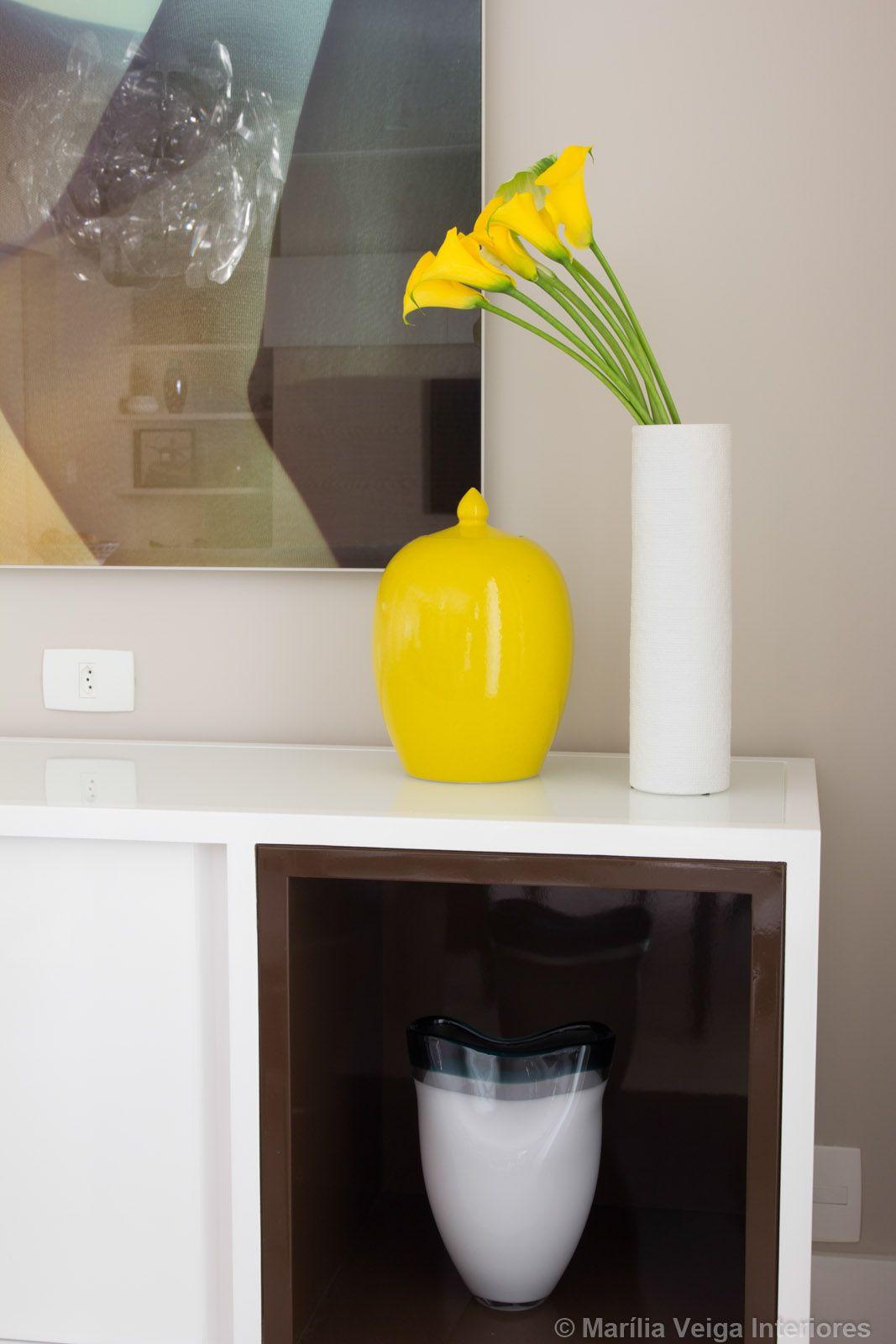 Decoração de Interiores de Apartamento no Itaim - Decoradora Marilia Veiga