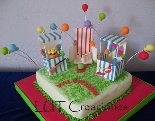 torta Decorada Kermese Torta Decorada Infantil La Kermesse de Valentino http://www.lutcreaciones.com.ar/torta-decorada-infantil-la-kermesse-de-valentino/?preview=true&preview_id=434&preview_nonce=982a7ce4bb&post_format=standard