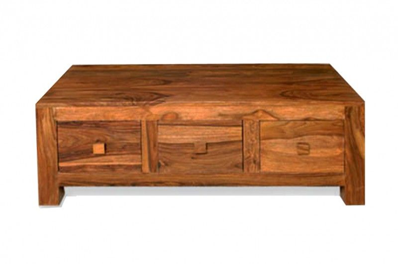 Couchtisch Cube Massiv Holz Moebel Palisander Wohnzimmertisch