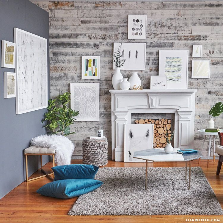 Следуйте нашим 4 простых правила для стиля арт-стену, как галерея профессионально - добавить характер к вашему домашнему декору и одновременно отражать ваш личный вкус!