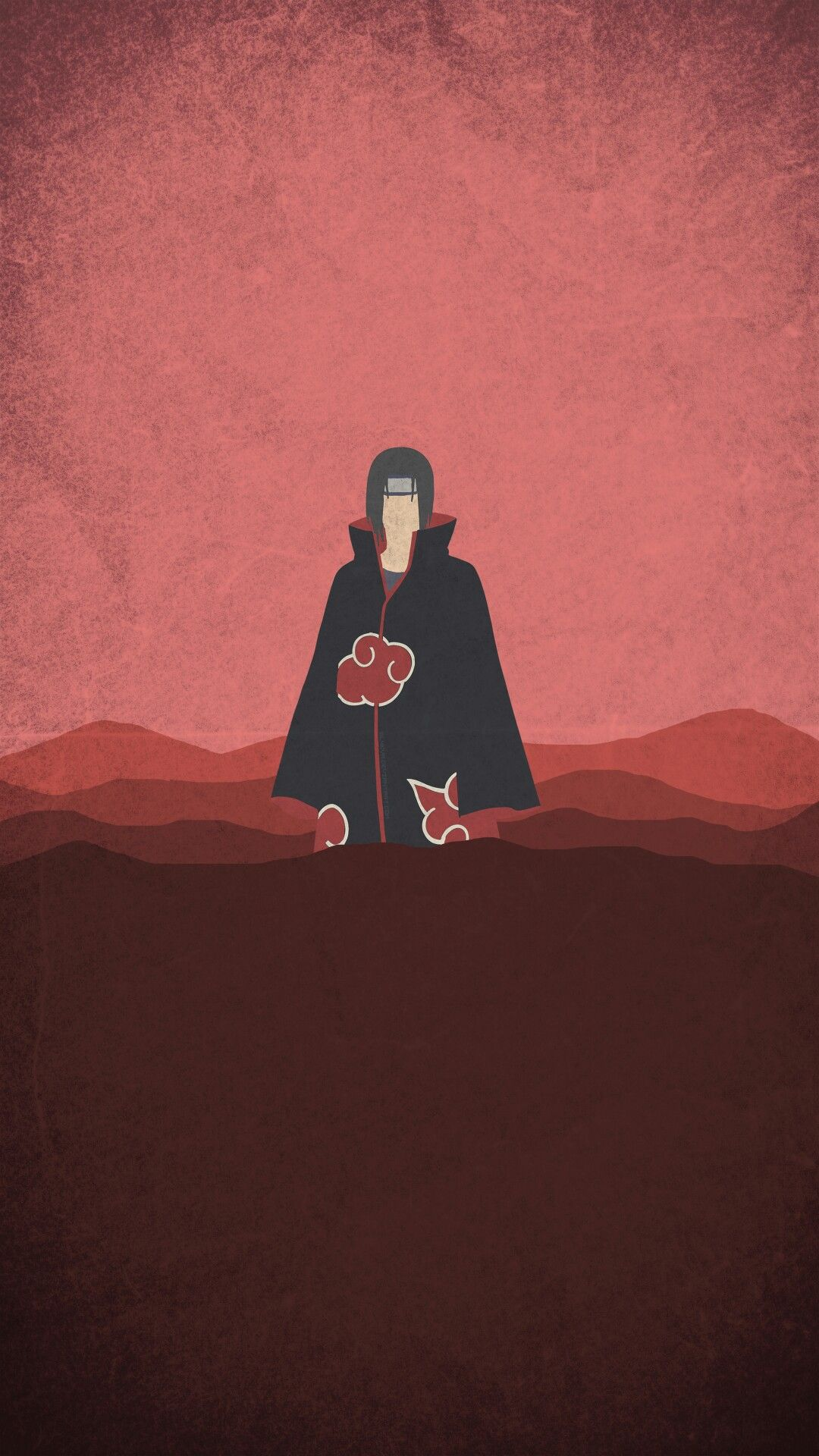 Naruto Minimalist Mobile Wallpaper Itachi Uchiha Naruto Wallpaper Naruto Wallpaper Iphone
