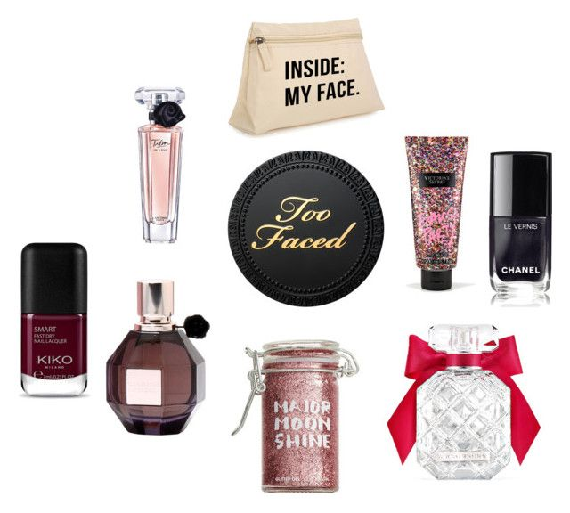 """""""Too Face"""" by cole222 on Polyvore featuring Victoria's Secret, Major Moonshine, Viktor & Rolf and Lancôme"""