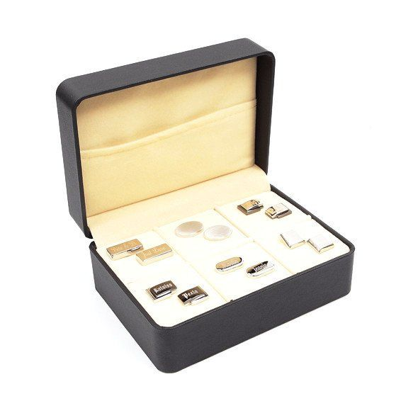 Cufflink Storage Case / Gift Box (6 Pairs) Store Your Cufflink Collection  In An