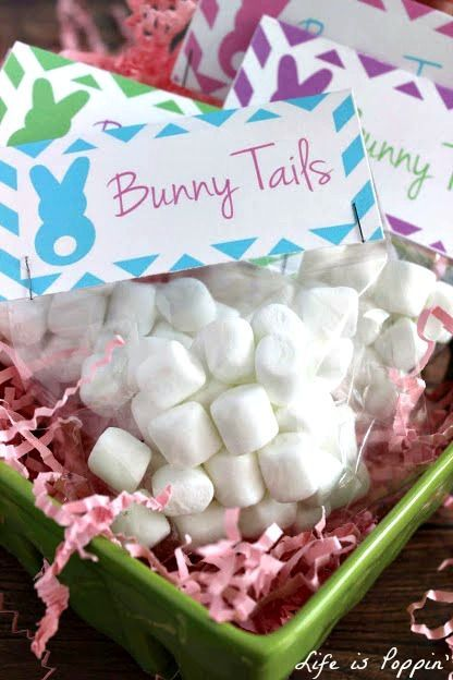 Bunny tails treat bags with free printable chocolate isnt always bunny tails treat bags with free printable here is a super cute alternative and an adorable gift idea for easter not to mention they are so easy to make negle Gallery