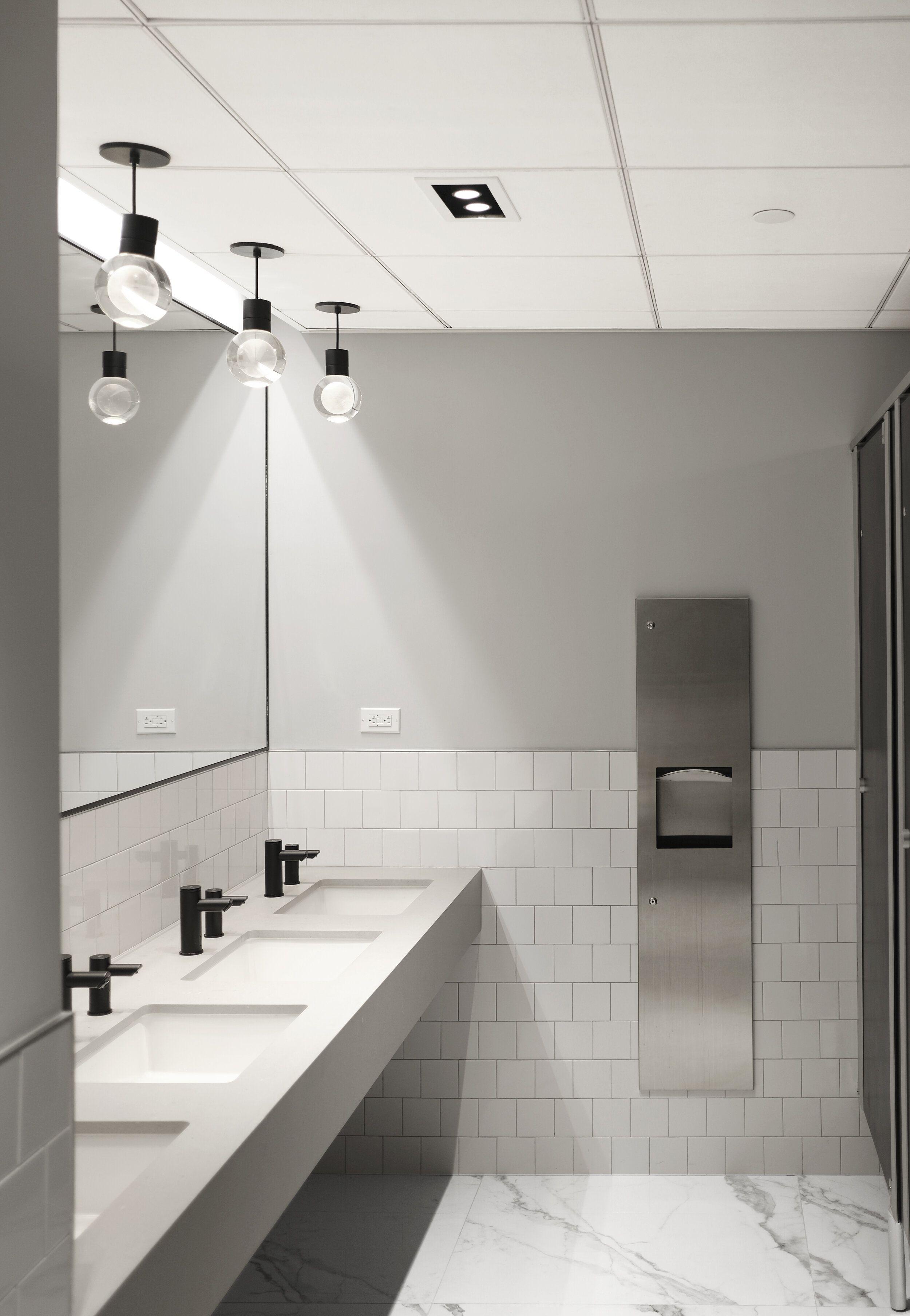 Minimal Commercial Bathroom Design Office Designs Washroom