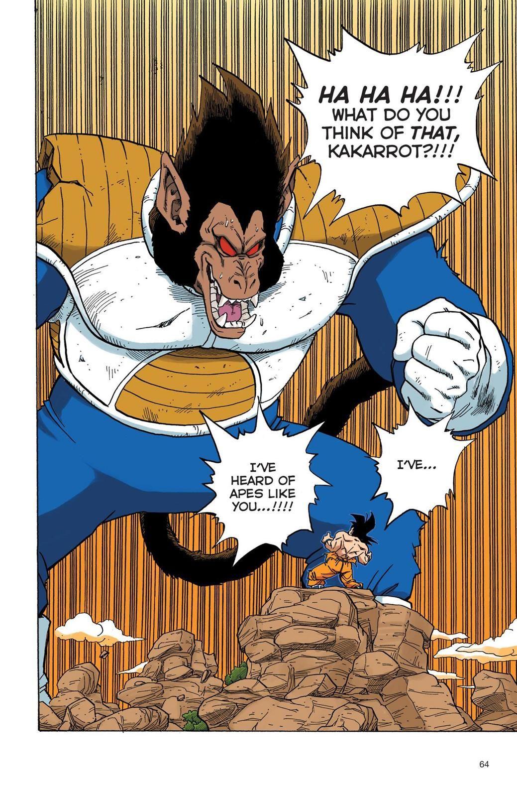 Read Dragon Ball Full Color - Saiyan Arc Chapter 39 Page 5 ...