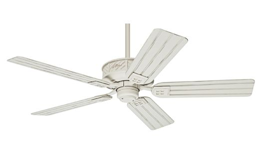 シーリングファン 54068 ディストレストホワイト Ceiling Fan
