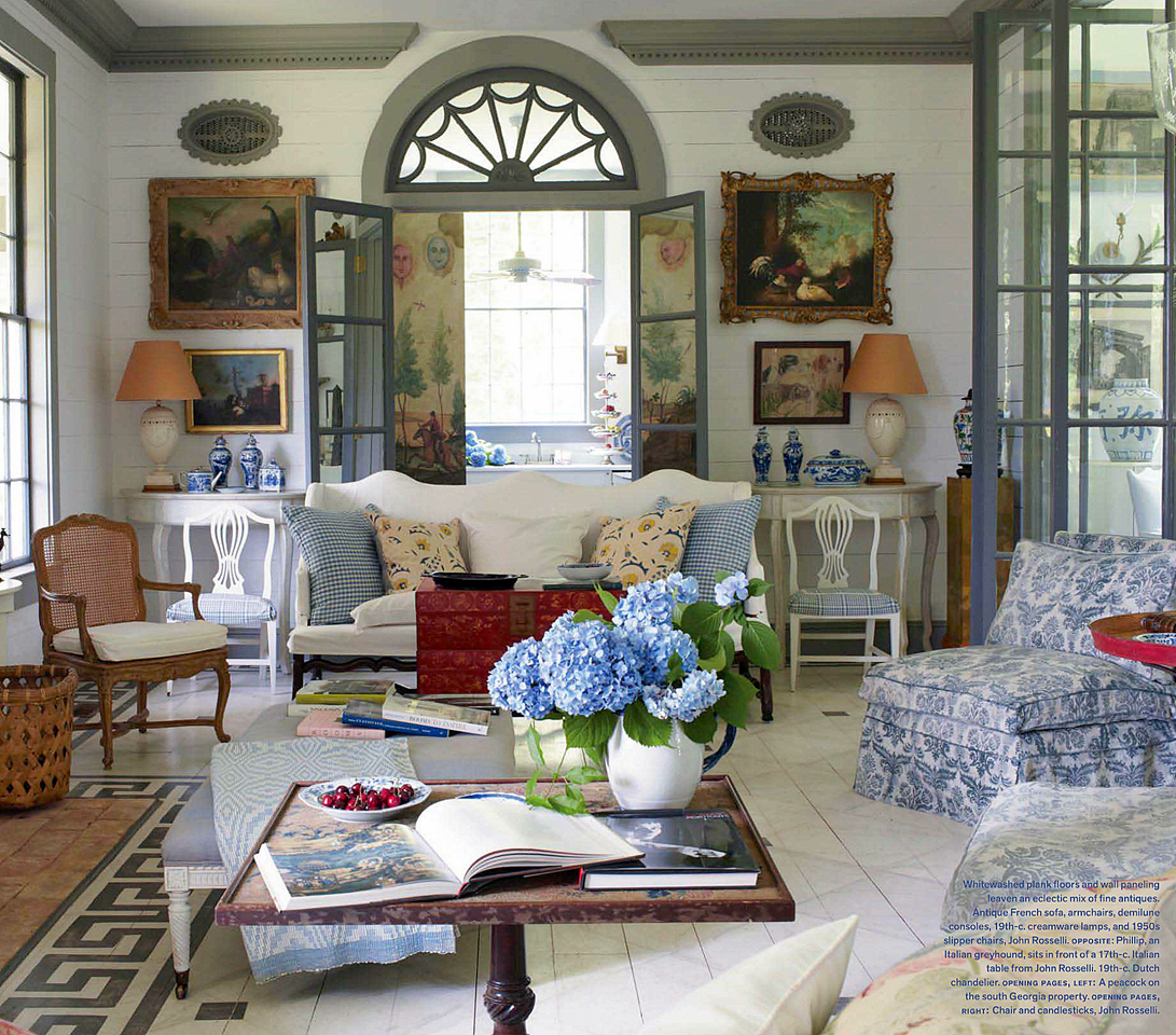 Southern Charm Living Room: I'm A Huge Fan Of Symmetry... I Can't Get Over The Taste