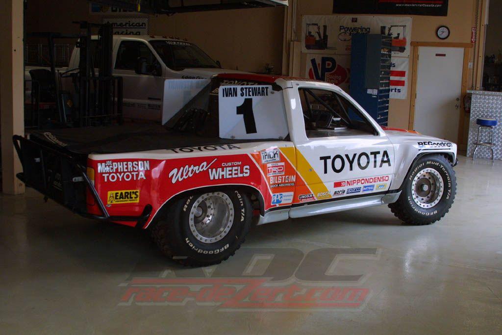 Ppi Toyota Mteg Stadium Truck Ivan Stewart Toyota Trucks Trophy Truck
