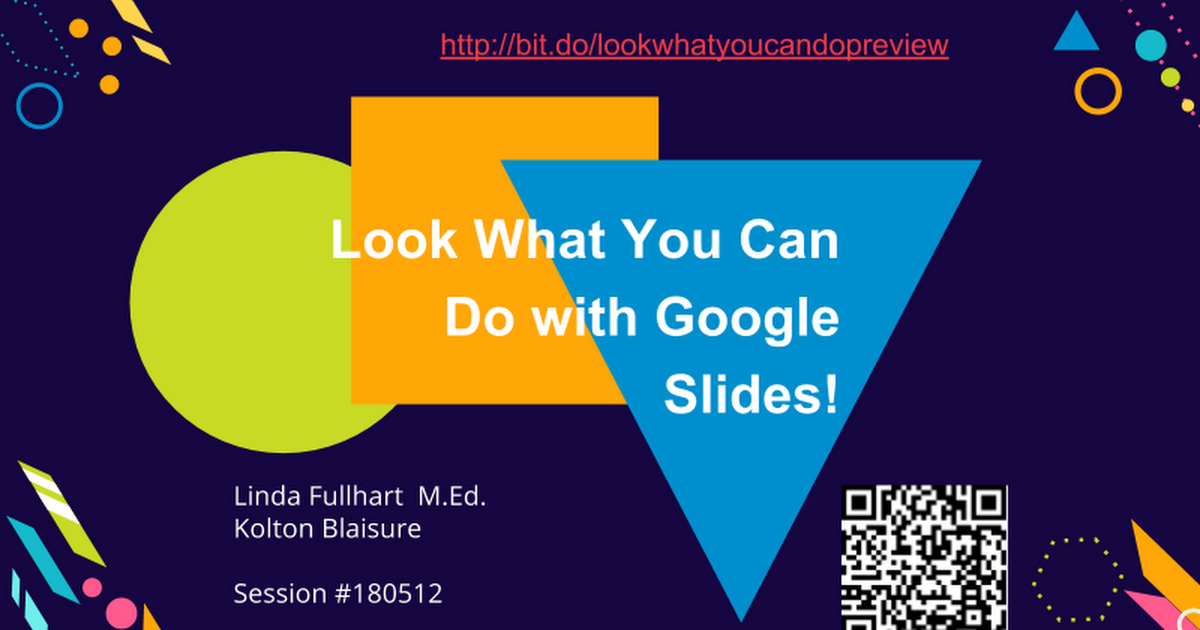 look what you can do with google slides google slides tcea 2018
