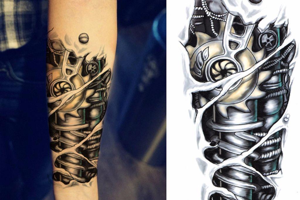 jaxx bionic temporary tattoo temporary tattoo sleeves. Black Bedroom Furniture Sets. Home Design Ideas