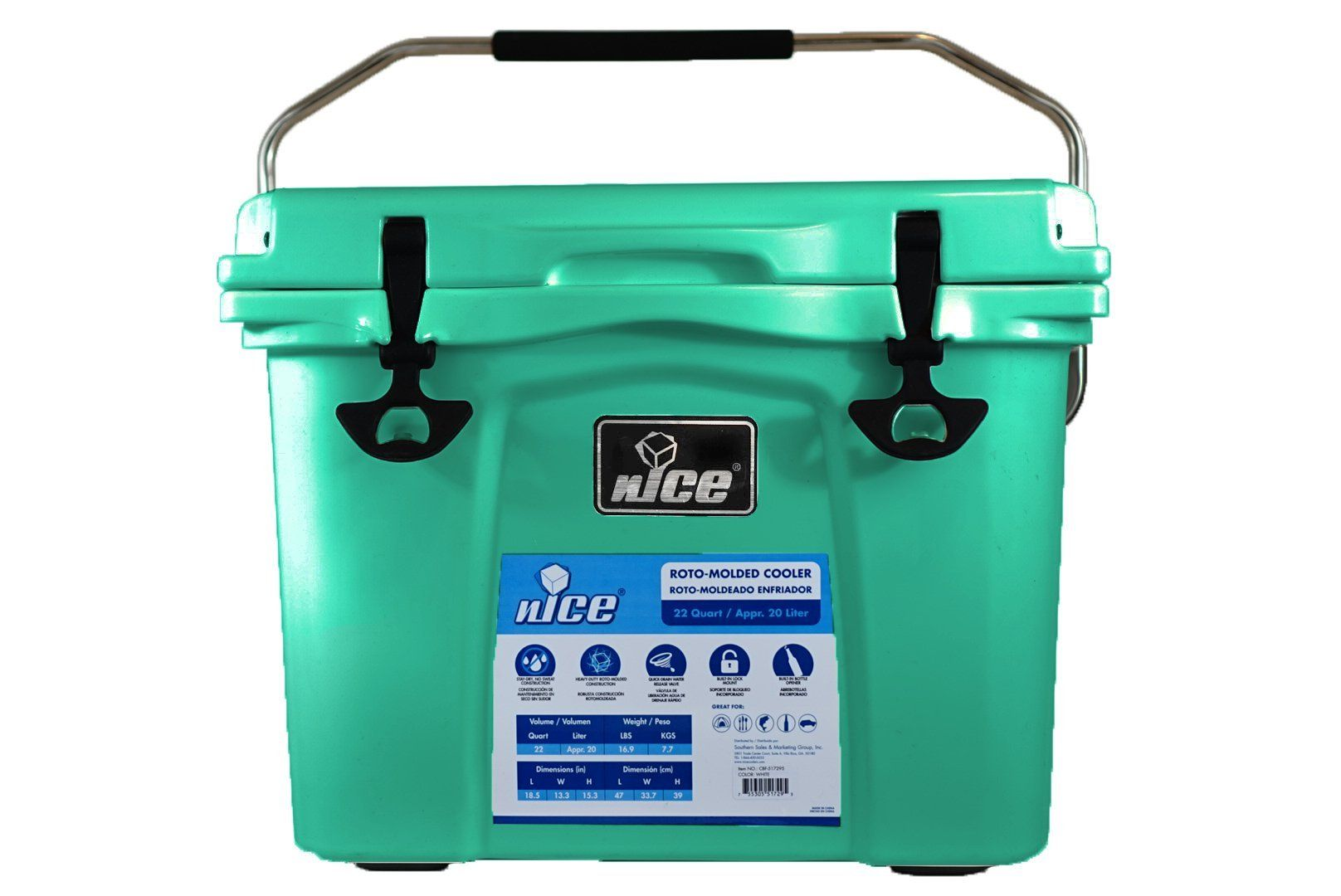 Nice Cooler 22 Quart Click On The Image For Additional Details This Is An Affiliate Link In 2020 Outdoor Cooler Pink Yeti Cooler Camp Kitchen