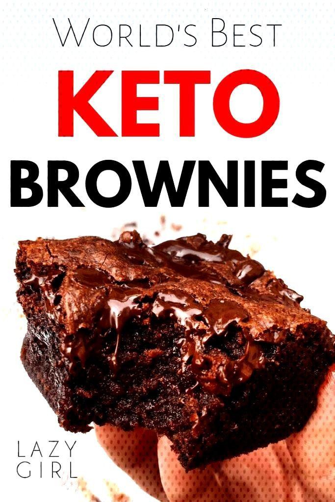 Worlds Best Keto Brownies - Keto Brownies - Ideas of Keto Brownies - Lazy Girl:Easy Low Carb Keto B