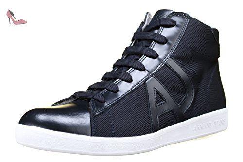 Armani Jeans - Basket 935566 - Cc503 09936 Blue Graphite - Taille 6 -  Couleur Bleu 53e18f14420b