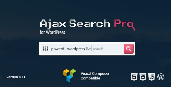 Ajax Search Pro for WordPress v5.11.10 Live Search Plugin | Web ...