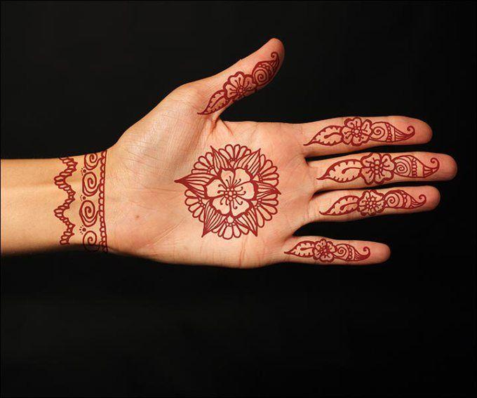 Contoh Henna Henna Mehndi Designs Mehndi Henna