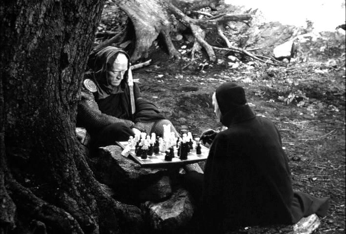 The Seventh Seal (Swedish: Det sjunde inseglet) is a 1957 Swedish drama-fantasy film written and directed by Ingmar Bergman. Set in Sweden during the Black Death, it tells of the journey of a medieval...