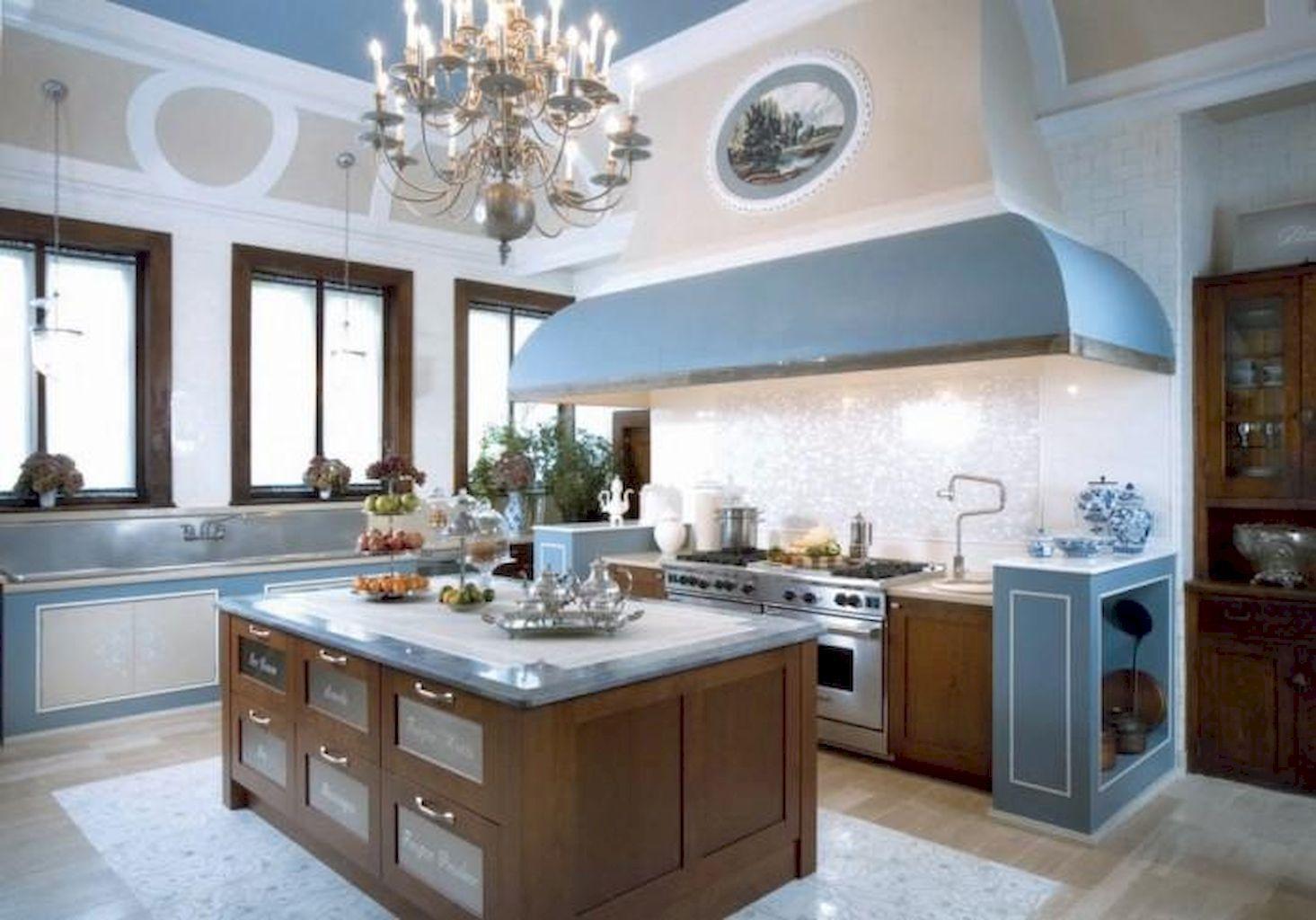 110 Stunning Farmhouse Kitchen Decor Ideas 110