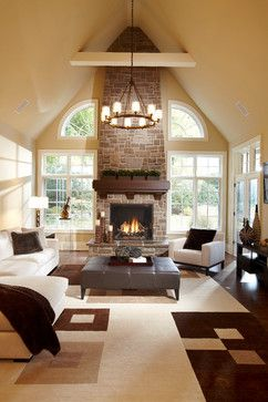Houzz  Home Design Decorating And Remodeling Ideas And Prepossessing Living Room Designs With Fireplace Decorating Design