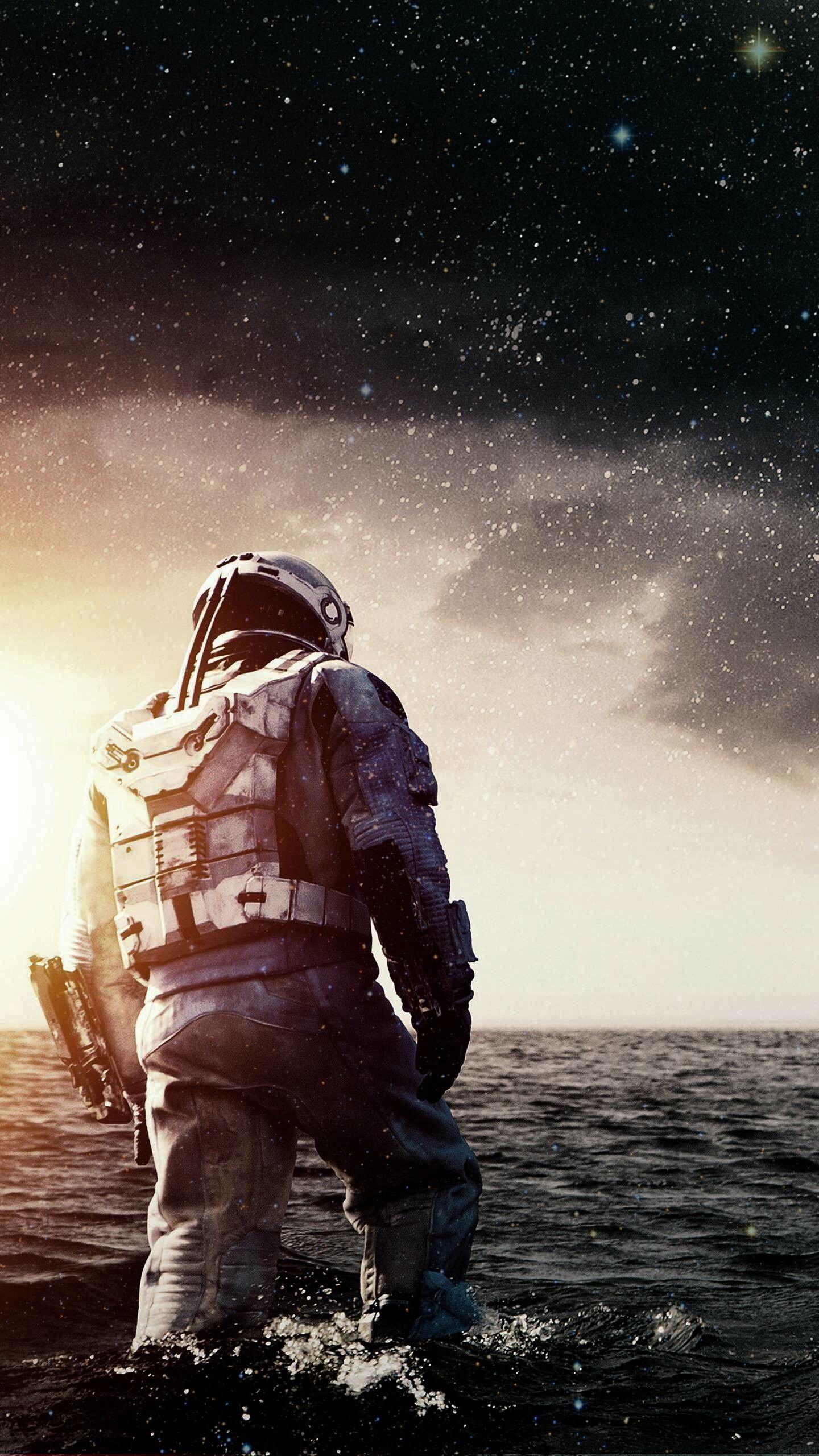 1440x2560 Interstellar Movie Wide Movies Hd Interstellar Movie Interstellar Astronaut Art