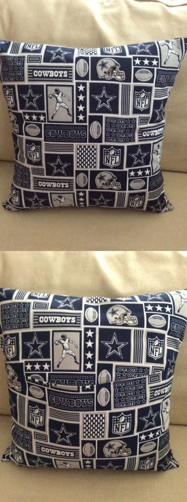 Dallas Cowboys Throw Pillow Cover New Handmade NFL DALLAS COWBOYS Mesmerizing Dallas Cowboys Decorative Pillow