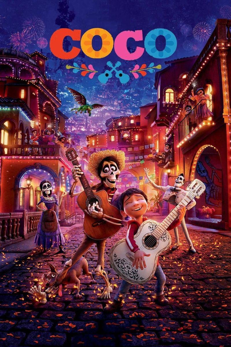Coco 2017 Animated Movies Disney Films Blu Ray Movies