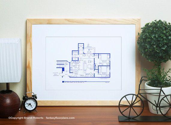 friends tv show floor plan apartment layout blueprint for residence of monica geller and - Rachel Home Plans