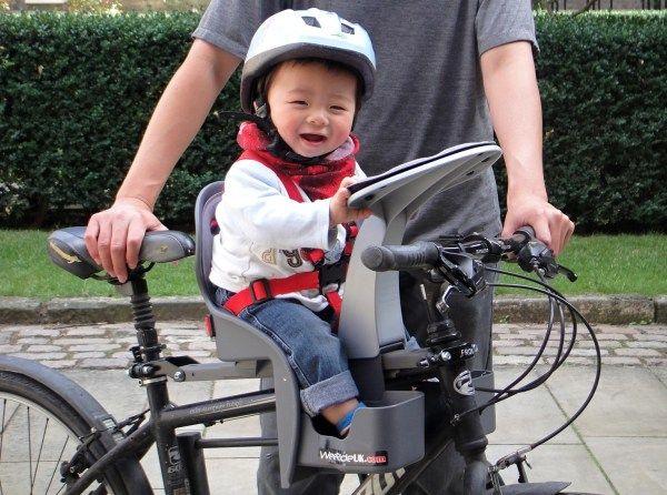 Weeride Kangaroo Child Bike Seat Review Cool Biking Kids Child