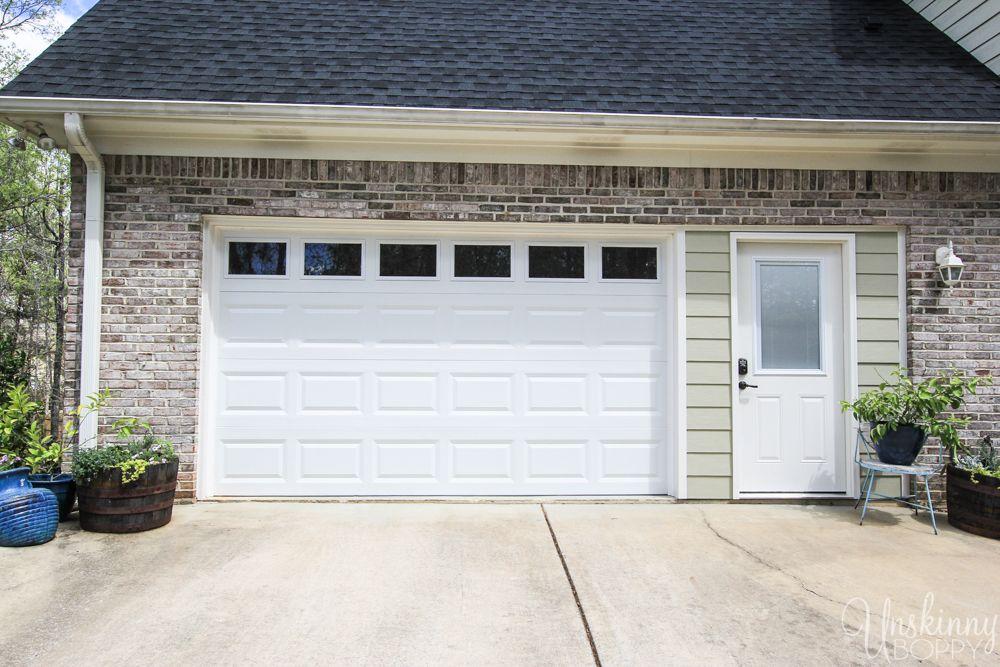 Replacing Double Garage Door With Single And Exterior Door 7 Garage Doors Cottage Front Doors Entry Doors