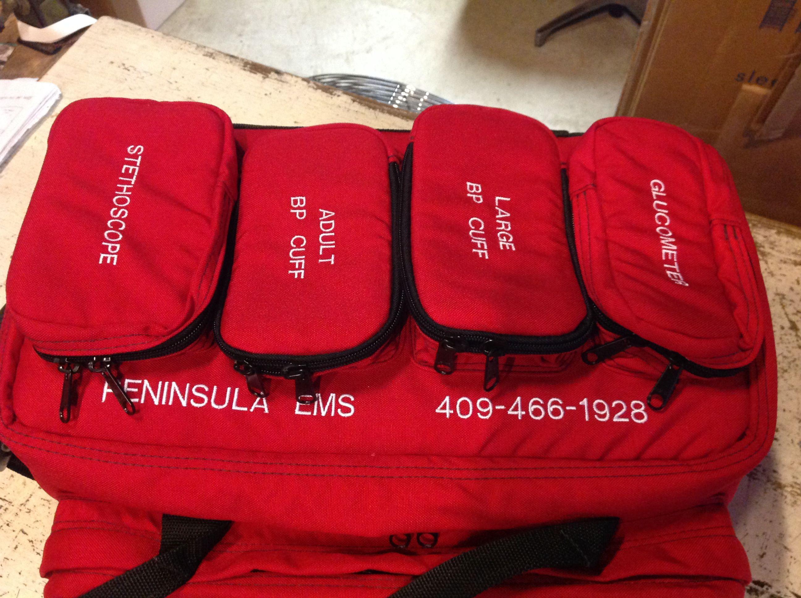 Emt Medical Jump Bag Custom Designed And Constructed American Made