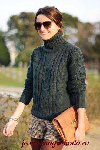 как выбрать свитер по фигуре