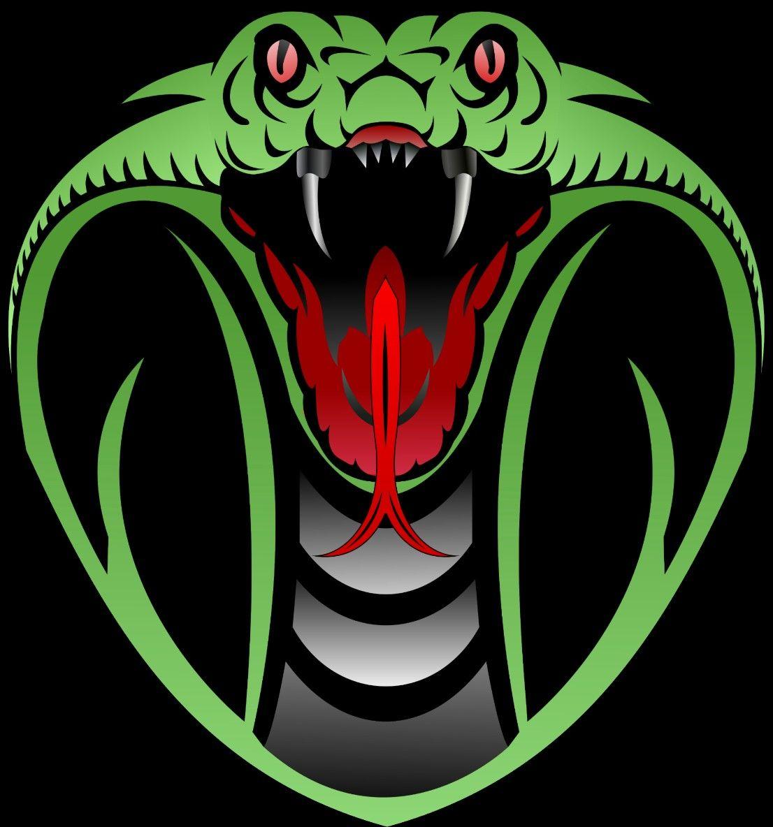 Logo Snake Design Vector Ular King Cobra Ular Binatang King Cobra