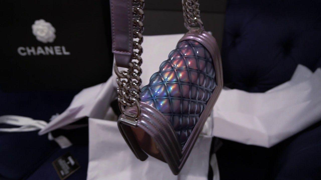 ea905bba Chanel PVC Small Boy Bag (Spring 2018) Unboxing - YouTube | FASHION ...